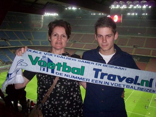 Randy & Sjan van Uden, AC Milan
