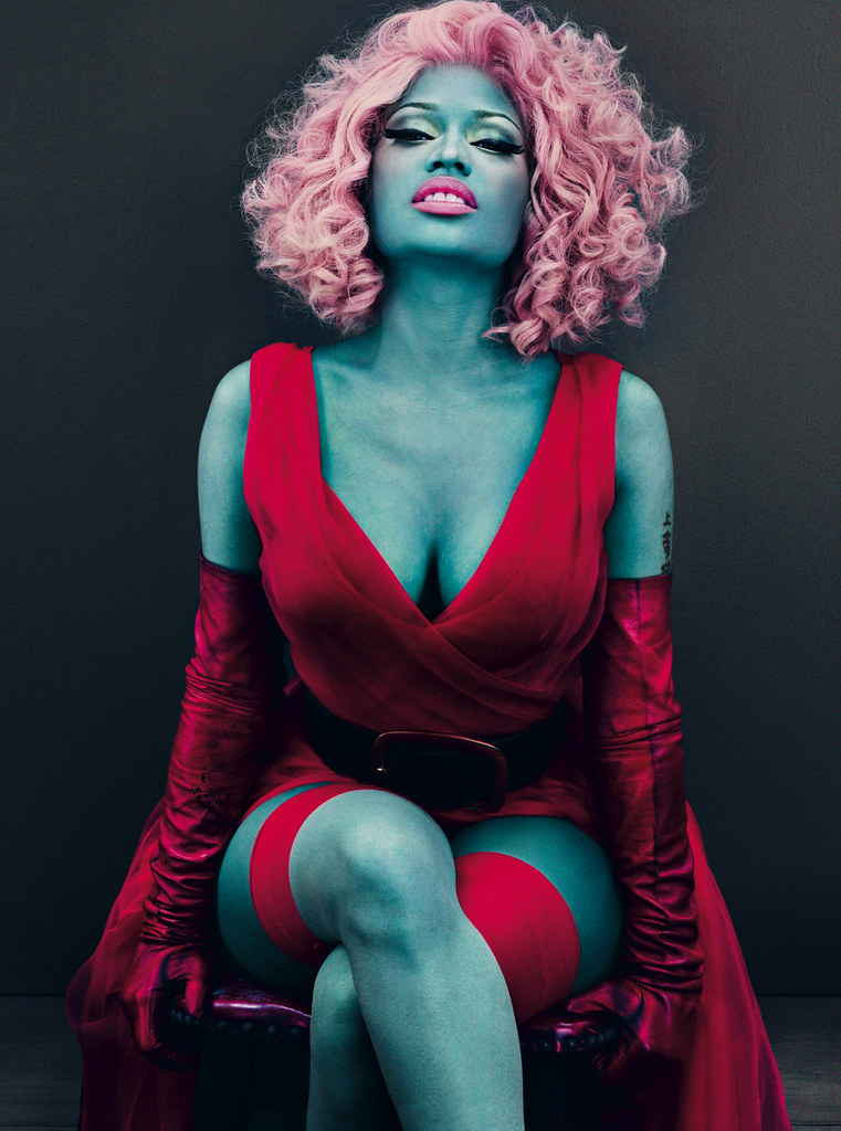Nicki Minaj Photographed by Steven Klein for the March Issue of Vogue