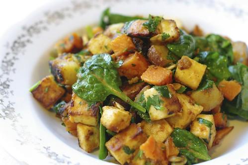 Miso Curry Delicata Squash