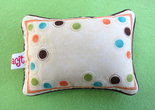 Ivory Pincushion #1 - Back
