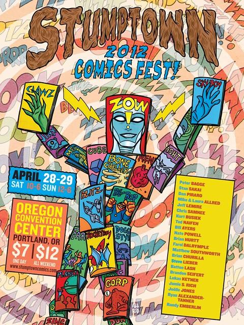 stumptown comics fest