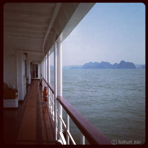 Halong Bay view in the moring