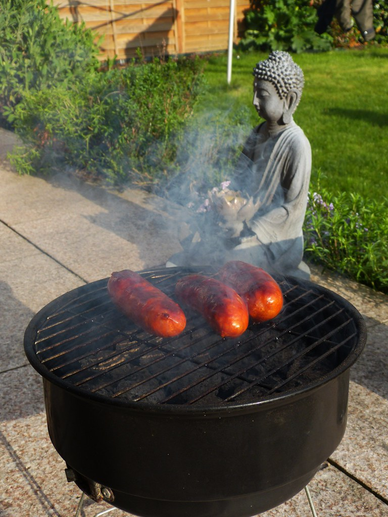 Zen and the Art of Grilling Chorizo