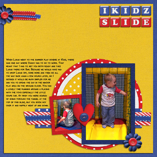 Ikidz Slide by Lukasmummy