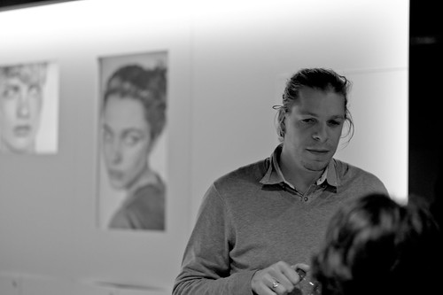Alex Majoli , The chairman of MAGNUM PHOTOS