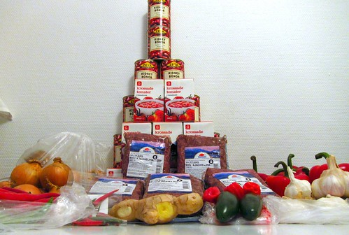 The tower of food