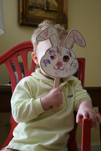 Clyde Bunny FAce
