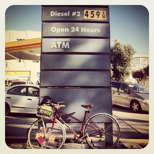 That ish is spensive #sf #soma #rideabike #gas
