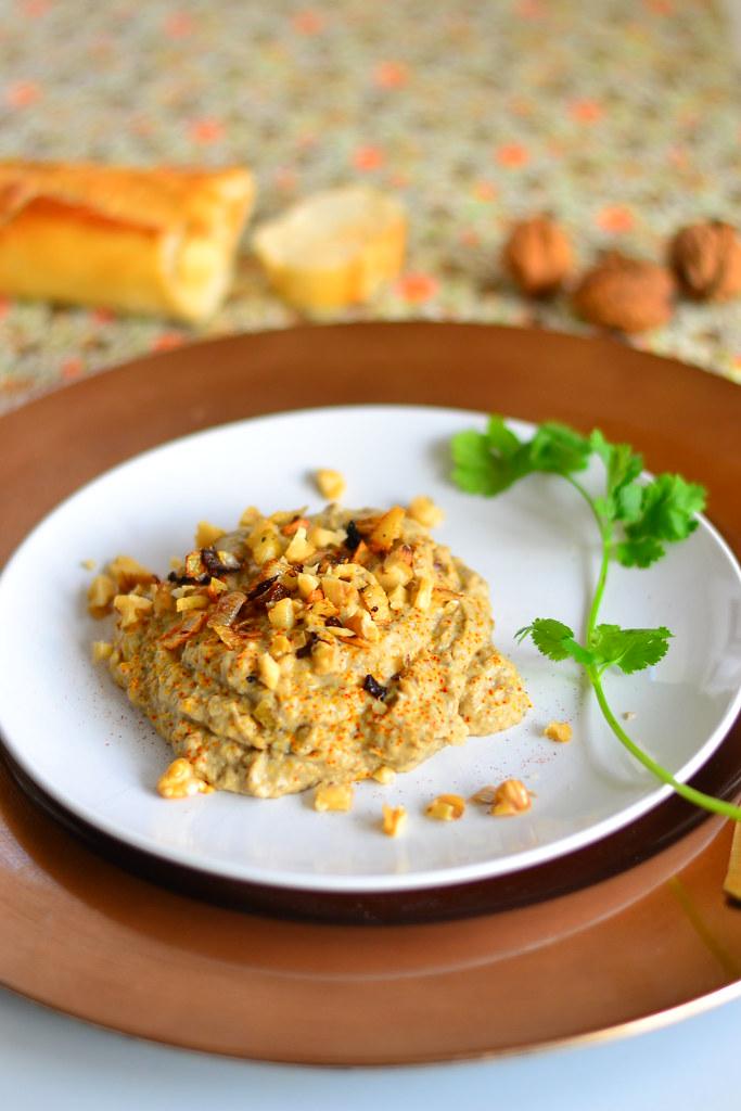 Iranian eggplant dip 5