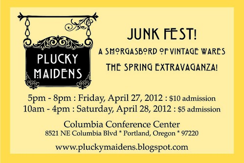 Plucky Maidens Junk Fest