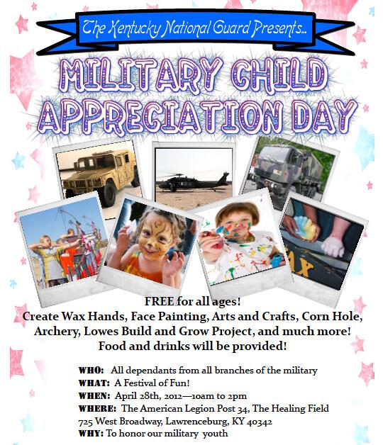 Military Child Appreciation Day