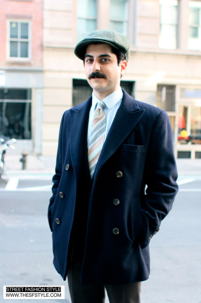 retro1 bespoke, double-breasted, new york, nyc, street fashion style,