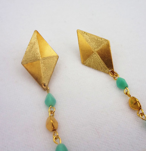 Against the Wind Kite Earrings