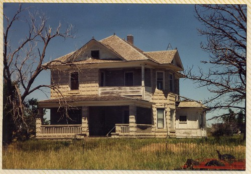 The Tollman home in the 1980's.