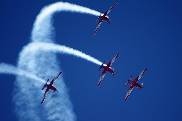 Roulettes aerobatic team - Royal Australian Air Force (RAAF)