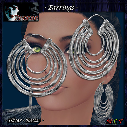 *P* Aysha Earrings ~Silver~