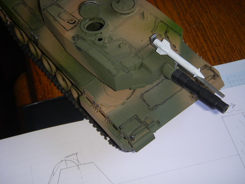 Old tank model from the early '90s