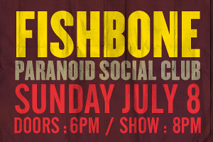 07/08/12 Fishbone/ Paranoid Social Club @ Brooklyn Bowl, Brooklyn, NY