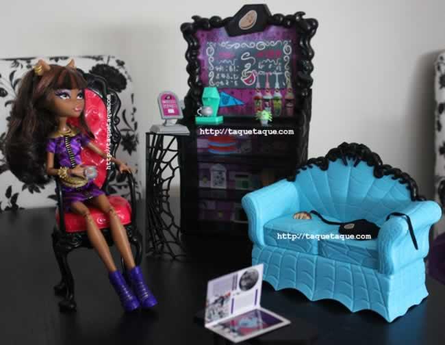 Mi colección Monster High - la Cafeterroría con Clawdeen Wolf