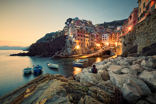 Sundown Showdown in Riomaggiore