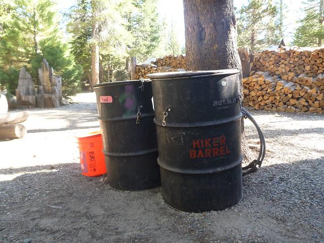 Hiker Barrels