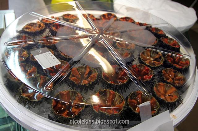 sea urchin take away