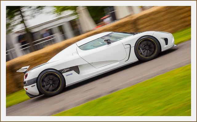 Koenigsegg Agera sports car