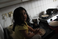 Marziya Makes Her Own Chappatis by firoze shakir photographerno1