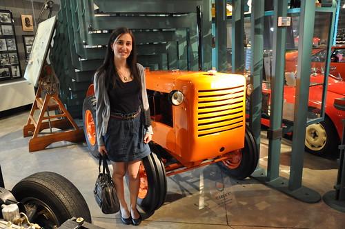 A Lamborghini tractor