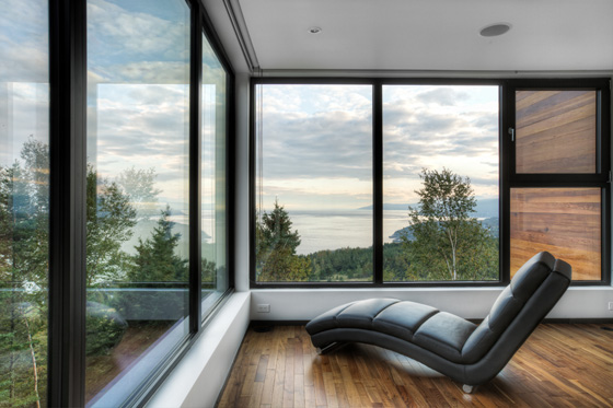 Malbaie V (Le Phare) by MU Architecture image: Ulysse Lemerise Bouchard (YUL Photo)