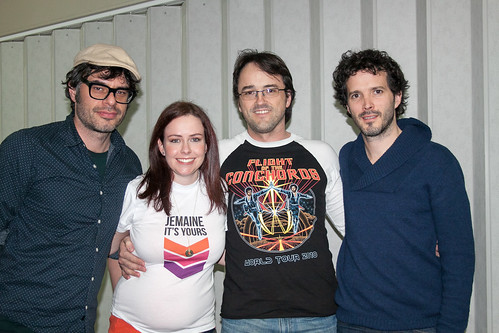 I met Flight of the Conchords!
