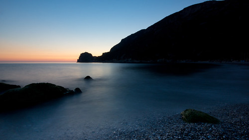 longexposure sunset greece corfu ermones sonydslra65