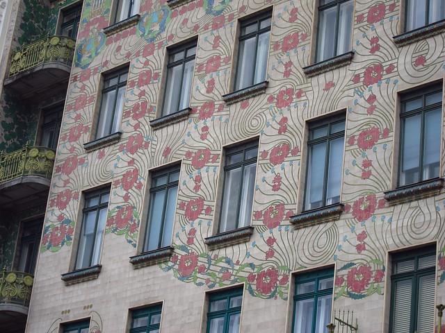 Otto Wagner Apartment Building in Vienna