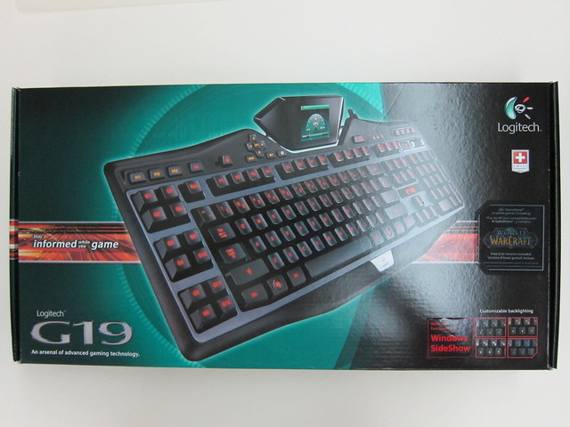 Logitech G19 Gaming Keyboard - Box Front