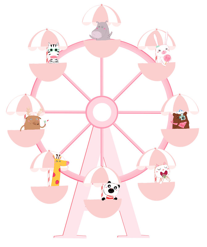 la grande roue des animaux