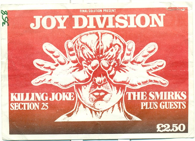 JOY DIVISION, KILLING JOKE, SECTION 25, A CERTAIN RATIO, SMIRKS AT THE ULU, LONDON, UK 1980