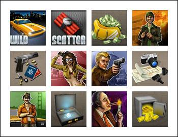 free Reel Steal slot game symbols