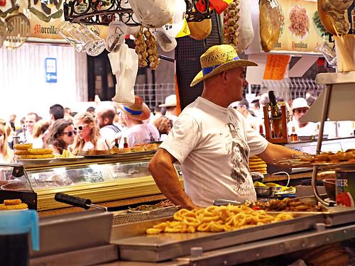 Kiosk California, July Fiestas, Puerto de la Cruz, Tenerife