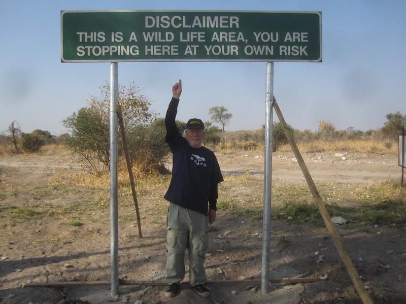 Botswana Wild Life Area Africa