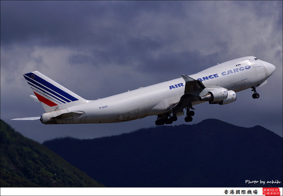 Air France Cargo / F-GIUC / Hong Kong International Airport