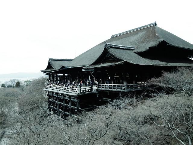 2012Kyoto 清水舞台。冬