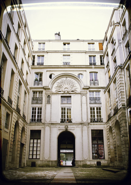 Courtyard in Ile Saint Louis