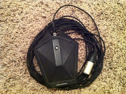 Audiotechnica XLR Boundary Microphone