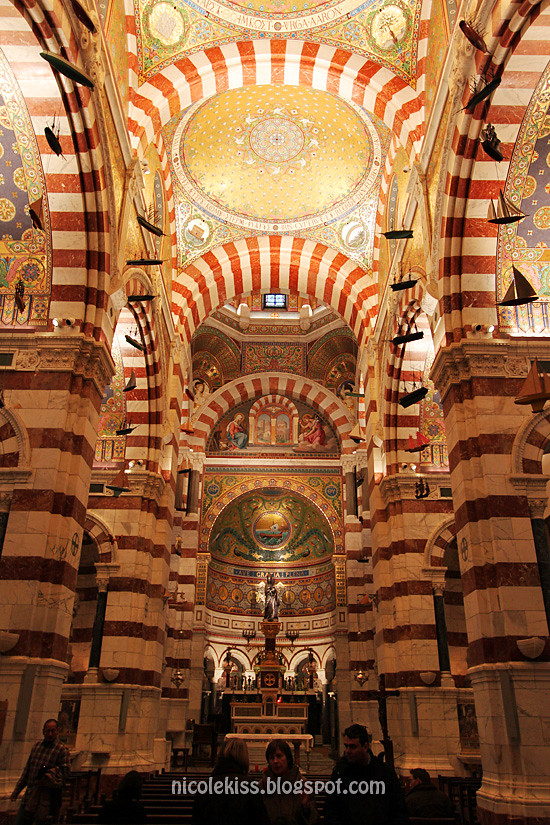 inside of Notre-Dame de la Garde
