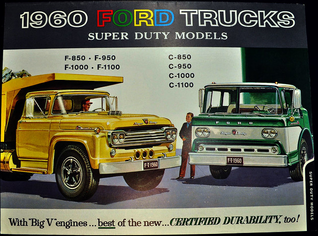 1960 Ford Trucks Brochure - super duty models