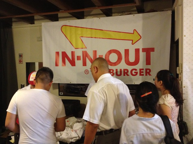 In-N-Out Collection Point