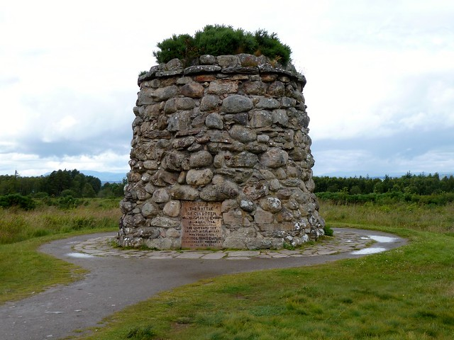 Memorial Cairn at Culloden Battlefield
