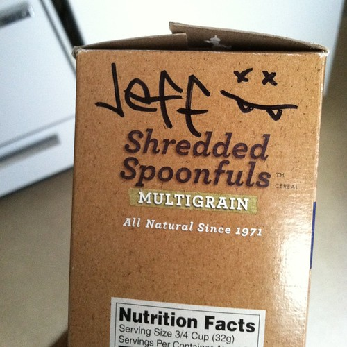 shredded spoonfuls