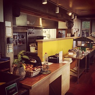 Last week of cafe duty. I will actually miss it quite a bit! #arcosanti #arizona