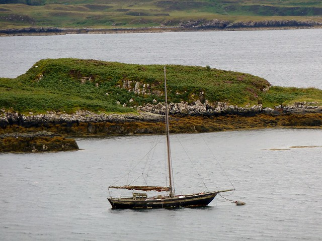 Traditional Sailing Sloop, Loch Dunvegan